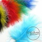 Pack of 20 Marabou Feathers for Crafts and Millinery