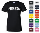 Pirates College Letter Woman's T-shirt