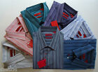 NWT $125.00 HUGO (Red Label) by Hugo Boss Stripe Slim Fit Sport Shirt