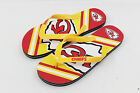 Official NFL Licensed Big Logo Unisex Flip Flops ***Kansas City Chiefs***