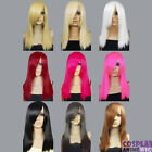 20 inch Heat Resistant ALL COLOR Chin Length Bang Cosplay Wigs
