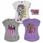 ★ Monster High ★ A-Form 2 ★ T-Shirt ★ 3 Fb. ★ 122 128 134 140 146 152 158 164 ★