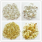 D2 Beautiful 500pcs silver/Gold plated snap on bail loops Pendant bails