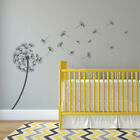 DANDELION Vinyl Wall Decal flower sticker blowing wind seeds kid room art K434