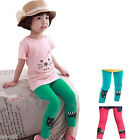Super Cute Girls Leggings 100% Cotton -- BNWT