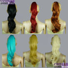 14 inch Heat Resistant All Colors Clipon Curly Cosplay Ponytails