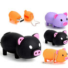 Lovely Cartoon Pig 8G 8GB USB 2.0 Memory Stick Flash Drive Storage U-Disk Gifts