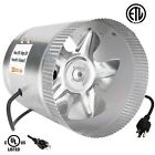 "4"" 6"" 8"" Inch Booster Fan Inline Blower Exhaust Ducting Cooling Vent HPS cheap"
