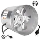"iPower 4"" 6"" 8"" Inch Booster Fan Inline Blower Exhaust Ducting Cooling Vent cheap"
