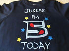 Personalised Baby, Toddlers & Children's Birthday Party Kids T- Shirts Ages 1-8