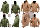Coyote Tan / Green Fleece Recon Hoodie ( All Sizes unisex military design Warm