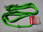 TOUGH-1 BRAIDED NYLON CORD KNOTTED RACING ROPING REINS WESTERN 7 FEET HORSE TACK