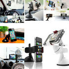 1xUniversal Car Windshield Mount Holder For iPhone 5 4S GPS MP3/4 Samsung HTC