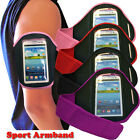 4 Colour Sport Cycling Gym Armband Cover With Strap Fit Samsung Galaxy S3 i9300