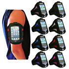 8 COLOUR SPORT RUNNING GYM ARMBAND STRAP PHONE COVER FOR NOKIA LUMIA 800 N800