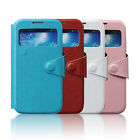 Special Button Flip Cover View Case Housing Case for Samsung Galaxy S4 i9500 New