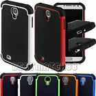 for Samsung galaxy s4 rugged  triple 3 layer soft n hard case cover siv i9500