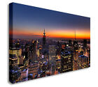 Beautiful Night New York City Skyline Wall Picture Canvas Art Cheap Print