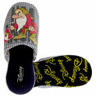 New Mens Blue GRUMPY Novelty Slippers Comfort Mule Slipper Size 6 7 8 9 10 11 12