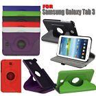 PU LEATHER BOOK FLIP CASE COVER FOR SAMSUNG GALAXY TAB 3 P3200 P3210 SM-T210