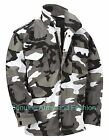 M65 US FIELD JACKET QUILTED LINER VINTAGE MILITARY ARMY COMBAT COAT URBAN CAMO