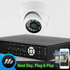 Sony CCD IR Dome Camera 4 Channel H264 DVR Complete Set Surveillance CCTV System