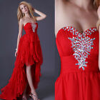 Sweetheart Sexy Beaded Formal Party Ball Gown Long Prom Bridesmaid Evening Dress