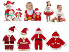 Baby Christmas Santa Claus Outfit Costume, Dressy Party Snowman Winter 3M-5T