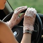 Women's Sexy Wrist lace UV Prevention Sun Block Bridal wedding dressing gloves