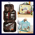 Travel Wash Kit Organizer Cosmetic Toiletry Folding Luggage Bag - Wash Up Pouch