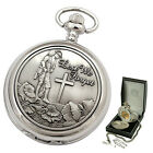 LEST WE FORGET REMEMBRANCE WINDING POCKET WATCH UK Supply Quality Mens Gift NEW