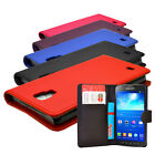 5 COLOUR WALLET FLIP MOBILE PHONE CASE COVER FOR SAMSUNG GALAXY S4 ACTIVE I9295