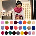 Hot Fashion Candy Color Crinkle Long Soft Scarf Wrap Shawl Stole 25 Colors