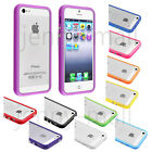TPU Silicone Rubber Gel Bumper Frame Case Cover Skin Shell for Apple iPhone 5 5S