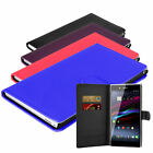 4 Colour Wallet Flip Phone Case Cover For Sony Xperia Z Ultra C6802 C6806 C6833