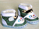 BABY BOYS GIRLS VELCRO PINK BLUE CANVAS SHOES NURSERY SLIPPERS SIZES UK 3 3.5