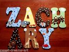 Custom Hand-Painted Wood Letters LAMBS & IVY SS NOAH'S ARK Baby Crib Bedding New