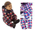 Baby Boy Girl Snowsuit- Winter Outerwear Padded with Cotton, Warm Thick Bodysuit