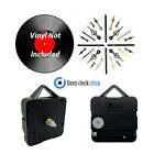New Vinyl Record Clock Making Kit - Make Your Own Record Clock - FREE BATTERY