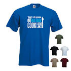 'This is what an Awesome Cook looks like' Chef Cooking Birthday Funny Tshirt