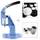 Starter set professional button making machine, setting tool and  50 blanks S004