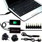 Universal Mains + Car Laptop Battery Charger Adapter + USB For Dynamo i3v N More