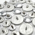 50 sets button blanks for cover buttons in various size's metal backs