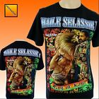 Haile Selassie Rastafari Rasta Lion Of Judah t-shirt