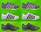 K-SWISS Mens Arvee Trainers New Leather White Grey Black Lace Ups Sale Size 7-12