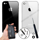 Genuine Glass Replacement Back for Apple iPhone 4 4S Case Battery Cover