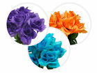 252 Silk Open Roses Wedding Flowers Bouquets Wholesale Supply Centerpieces SALE