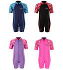 Lycra Armed Patterned Baby Kids Toddler Wetsuit by Two Bare Feet