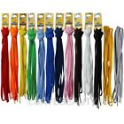 "45"" Flat Shoelaces Athletic Sport Sneakers Canvas Shoe Laces Color String laces"