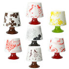 New Beautiful Desk Lamp Shaped Tissue Box Cover Holder Paper Pot Household Car